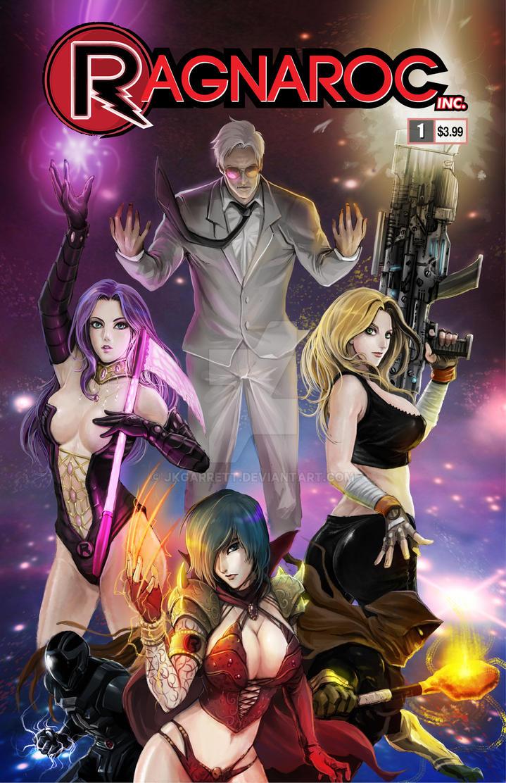 Ragnaroc Inc: Embrace Oblivion #1 Cover by jkgarrett