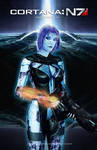 Mass Effect/Halo Fan Art Mash-up: Cortana: EDI