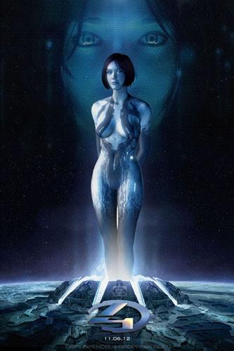 Cortana Halo 4 Photoshop Fan Art by rs2studios