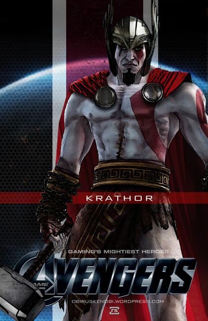 Video Game Avengers Krathor Fan Art by rs2studios