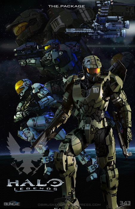 Halo Series Fan Art Panels Pt5 Halo Legends By Rs2studios On