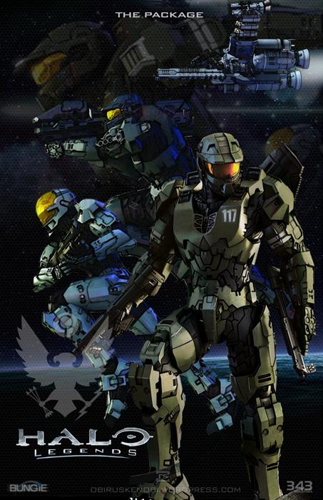 Halo Series Fan Art Panels Pt5 Halo Legends By Rs2studios On