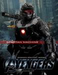Video Game Avengers Spartan Machine Fan Art 2.0