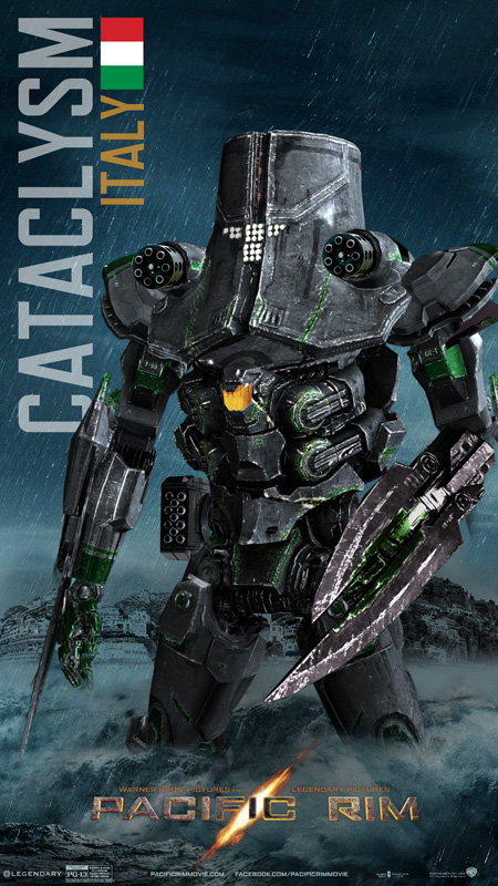 Pacific Rim Jaeger Cataclysm/Italy by rs2studios