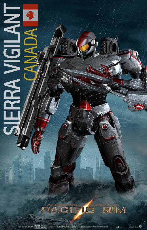 Pacific Rim Jaeger Fan Art Sierra Vigilant/ by rs2studios ... Pacific Rim Jaeger Size