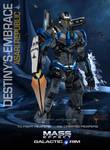 MassEffect Jaeger Mashup Asari/Destiny's Embrace