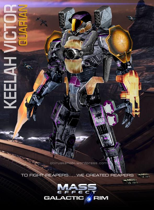 MassEffect Jaeger Mashup Quarian/Keelah Victor by rs2studios