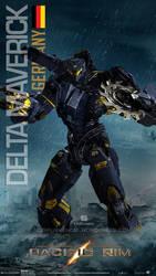 Custom Jaeger Request Delta Maverick by rs2studios