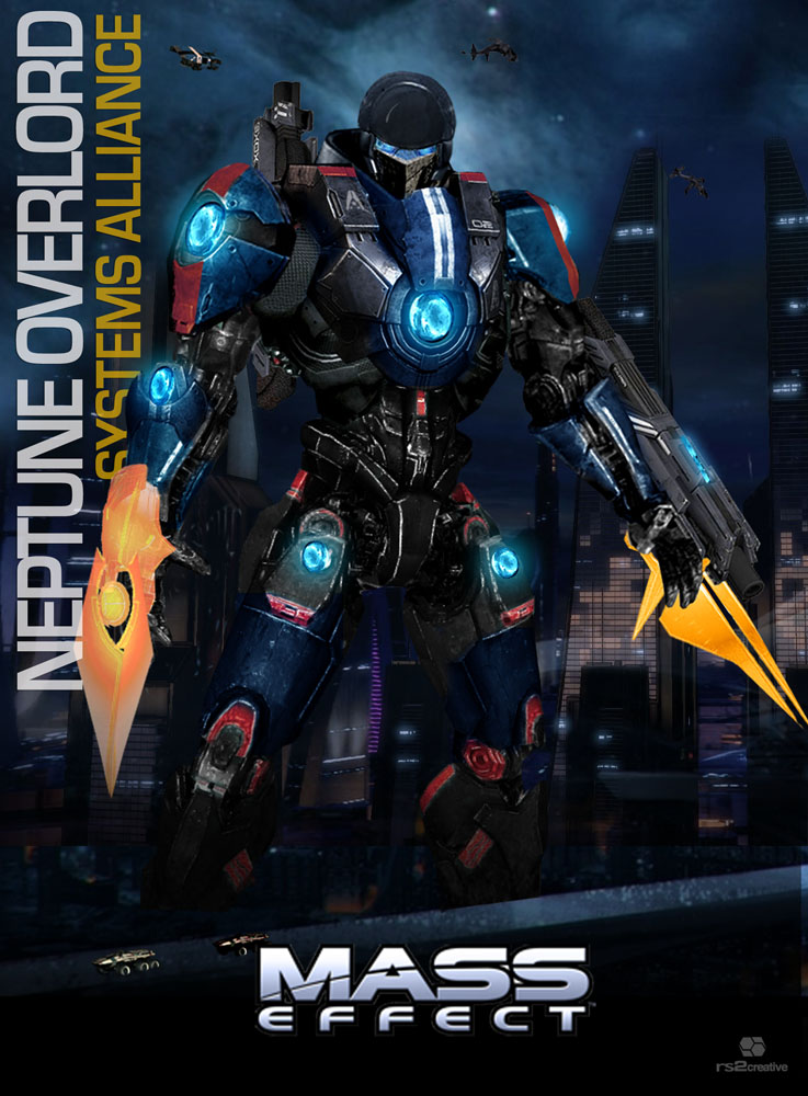 PacificEffect Jaeger Commission Neptune Overlord by rs2studios