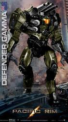Custom Jaeger Defender Gamma New Zealand by rs2studios