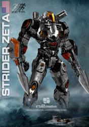 Strider Zeta Custom Jaeger Request by rs2studios