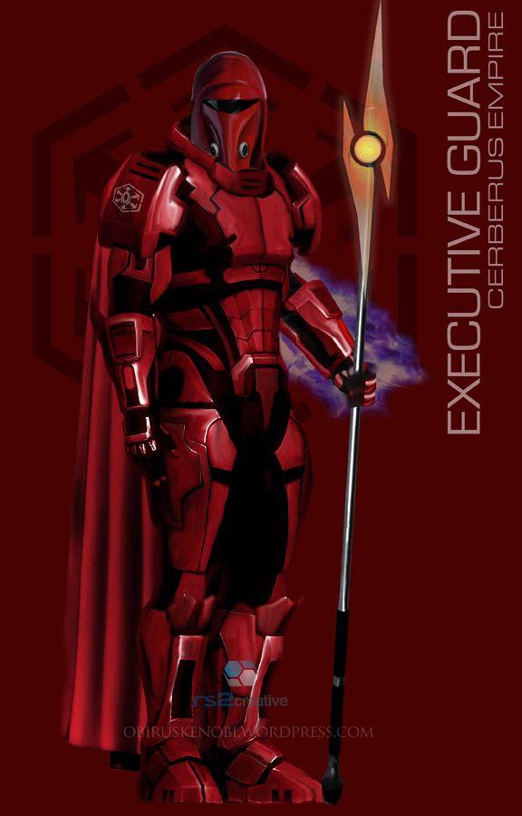 StarWars MassEffect Crossover Executive Guard by rs2studios