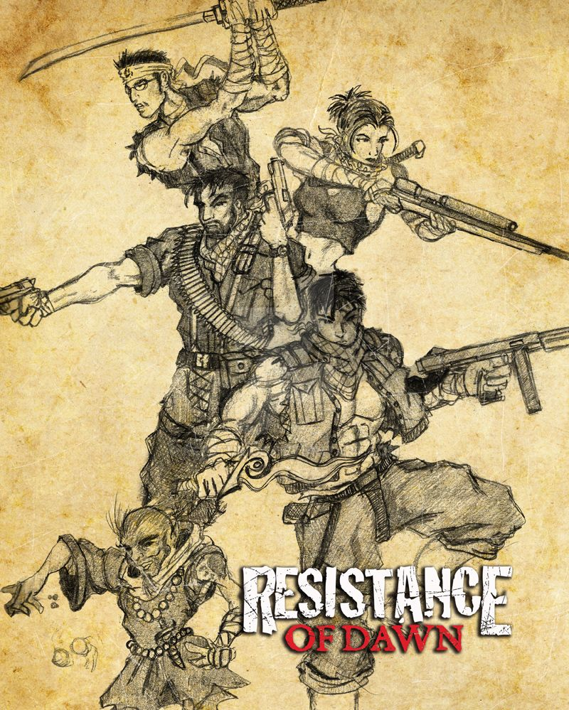 Resistance of Dawn Concept Group by rs2studios