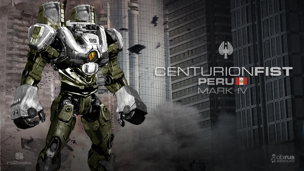 Custom Fan Made Pacific Rim Jaeger Centurion Fist by rs2studios
