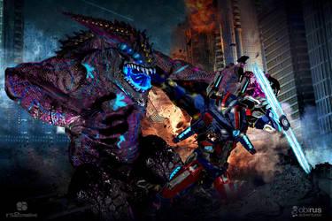 Azure Infinite vs Eviscerator Battle Strike by rs2studios