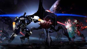 Mass Effect Jaegers vs Reaper Destroyer pt 2