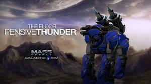Mass Effect Elcor Jaeger Pensive Thunder
