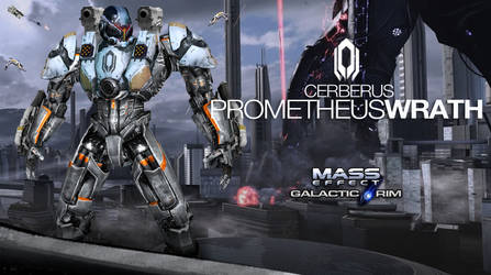 Mass Effect Cerberus Jaeger Prometheus Fist by rs2studios