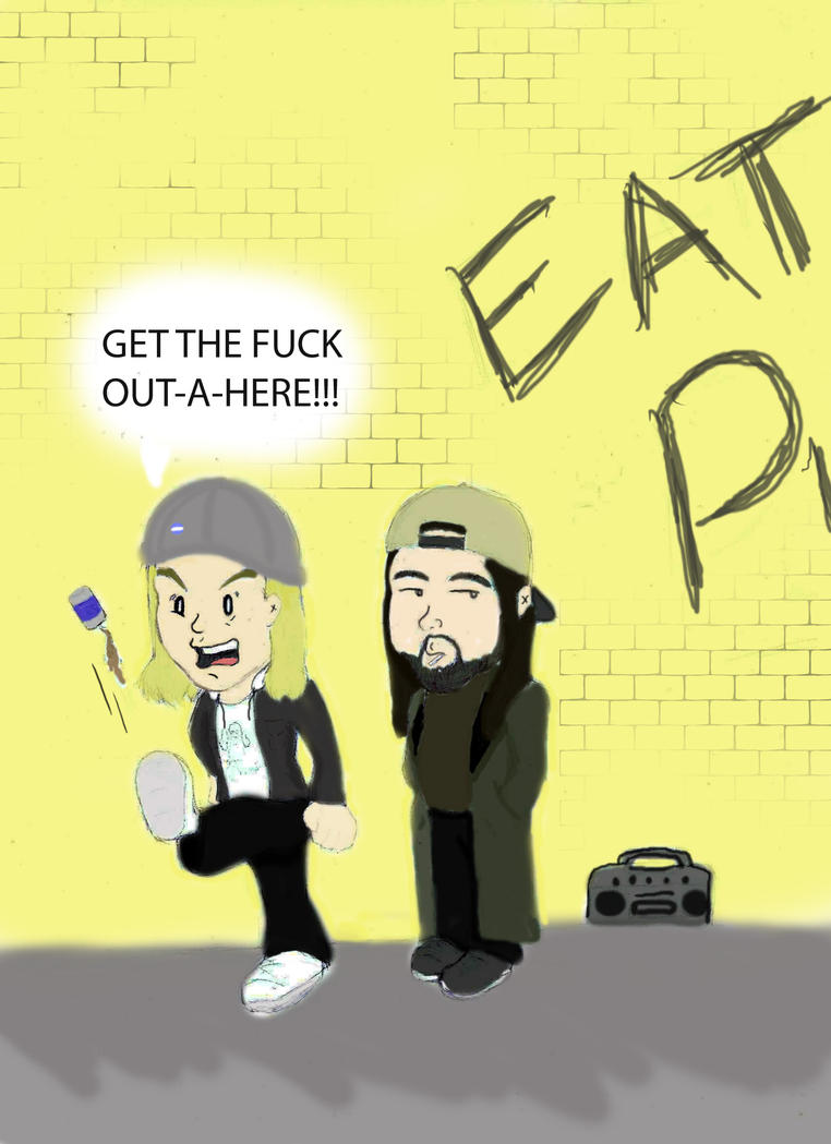 jay and silent bob eat pussy
