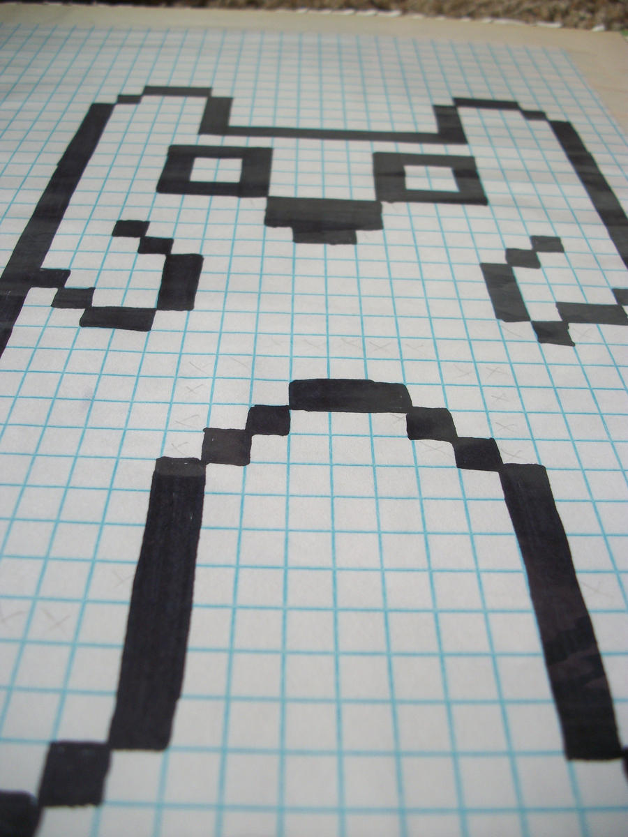 better things to do with graph paper by rawr675 on deviantart