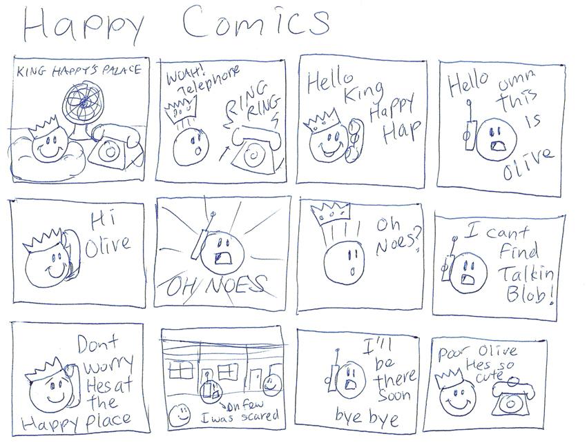 Happy Comics by PudgeyRedFox