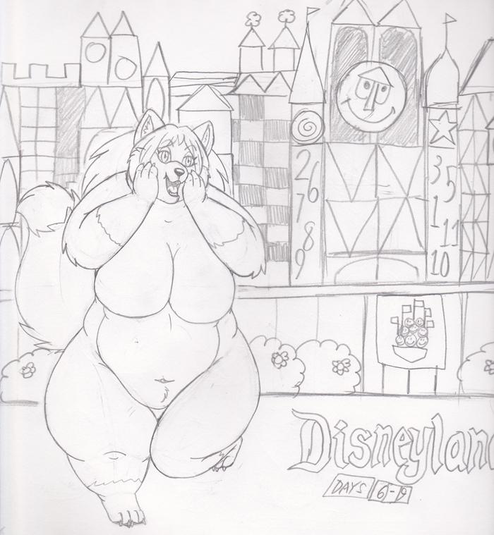 Disneyland by PudgeyRedFox