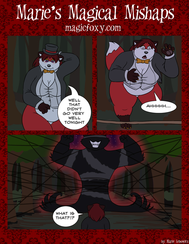Marie's Magical Mishaps Page 35 by PudgeyRedFox
