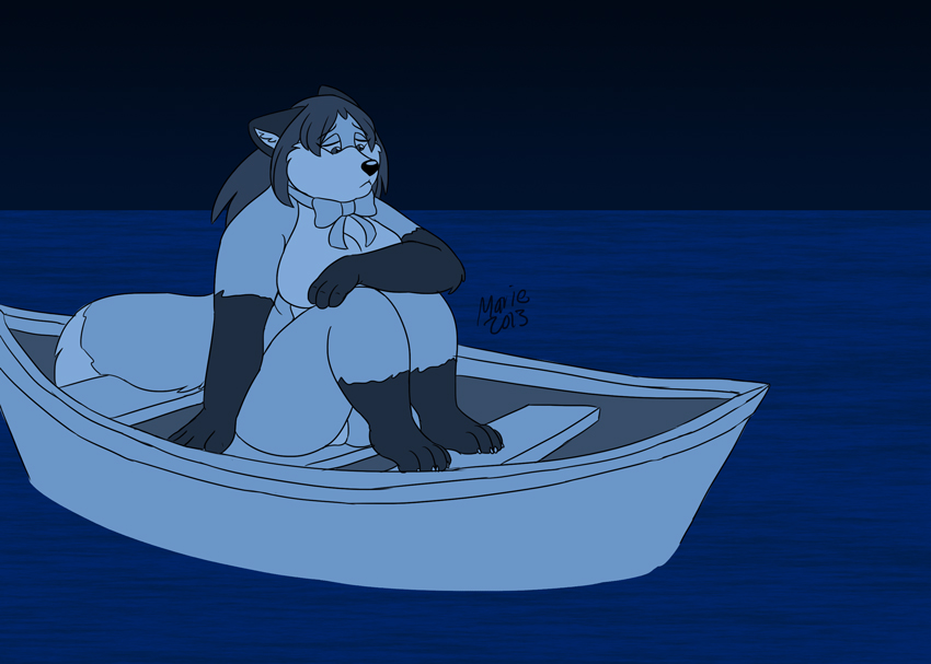 Aimlessly Adrift by PudgeyRedFox