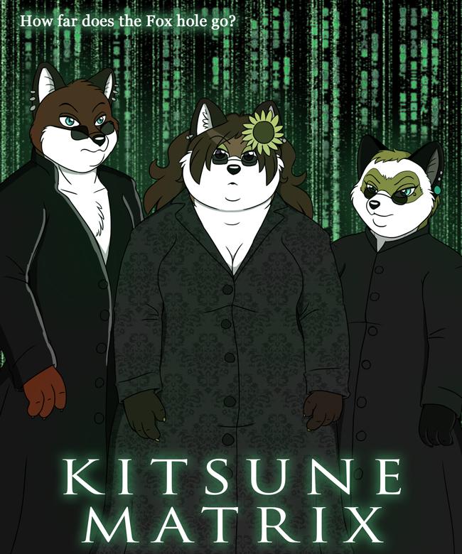 The Kitsune Matrix by PudgeyRedFox