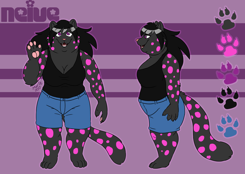 Commission: Neive by PudgeyRedFox