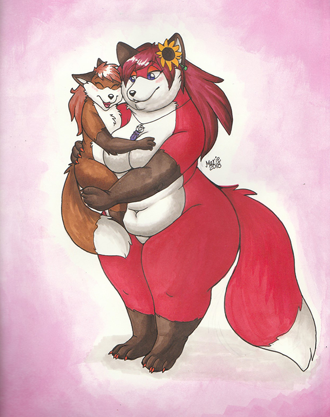 Happy Mama's day by PudgeyRedFox
