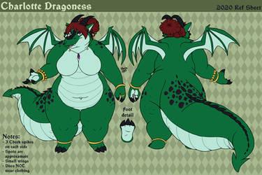 2020 Charlotte Dragoness Ref Sheet