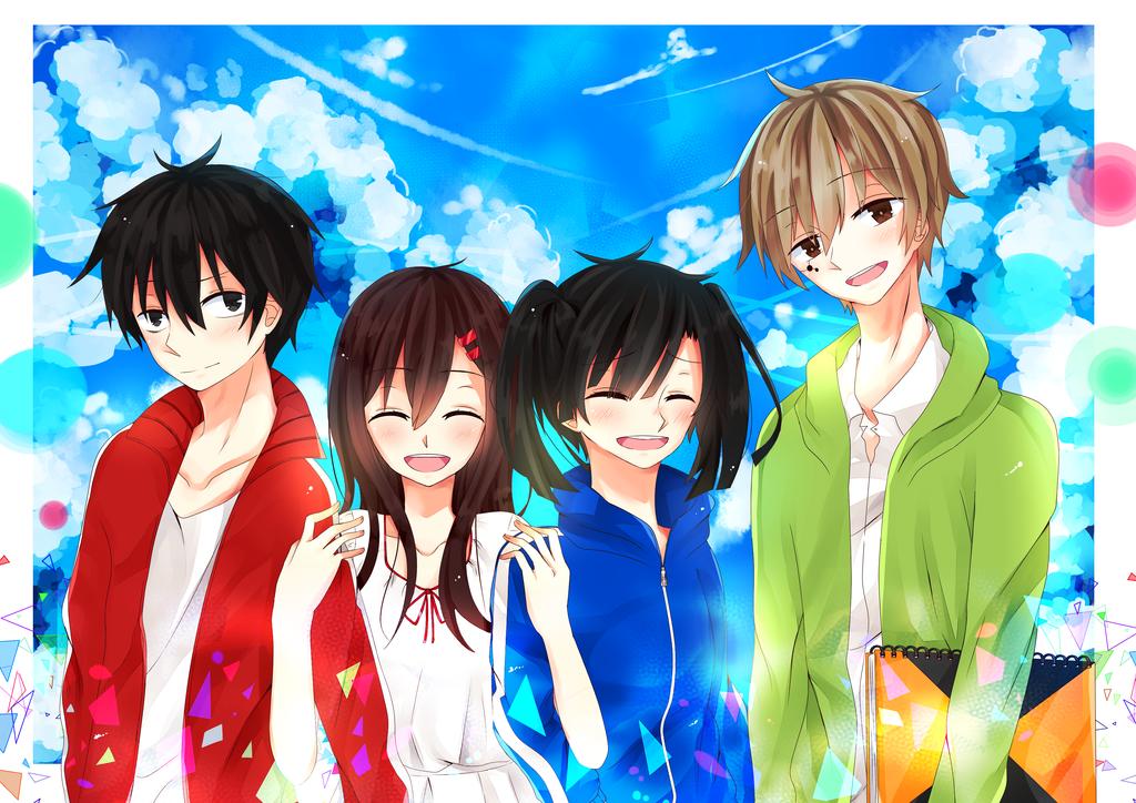 - Happy Quartet - by bunyeol