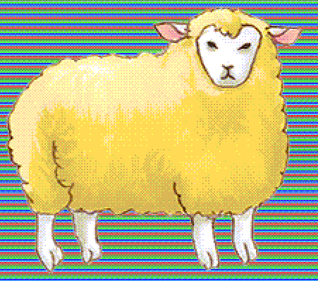Sheep by pigmhall
