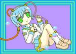 msx girl computing