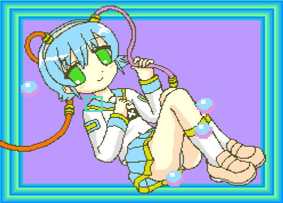msx girl computing by pigmhall