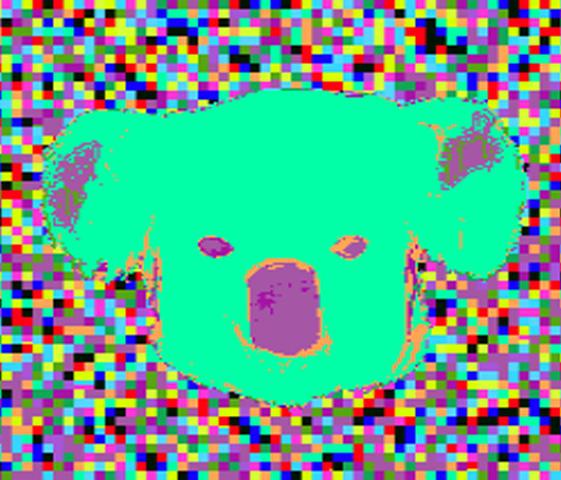 Koala Face by pigmhall