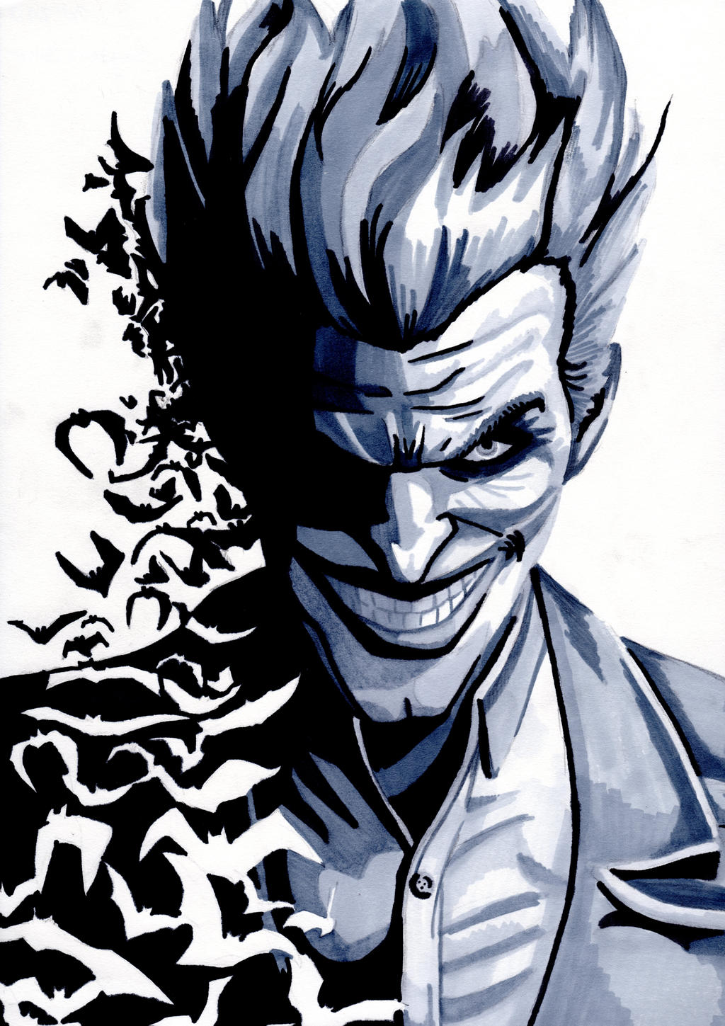 drawn joker wallpapers and - photo #23