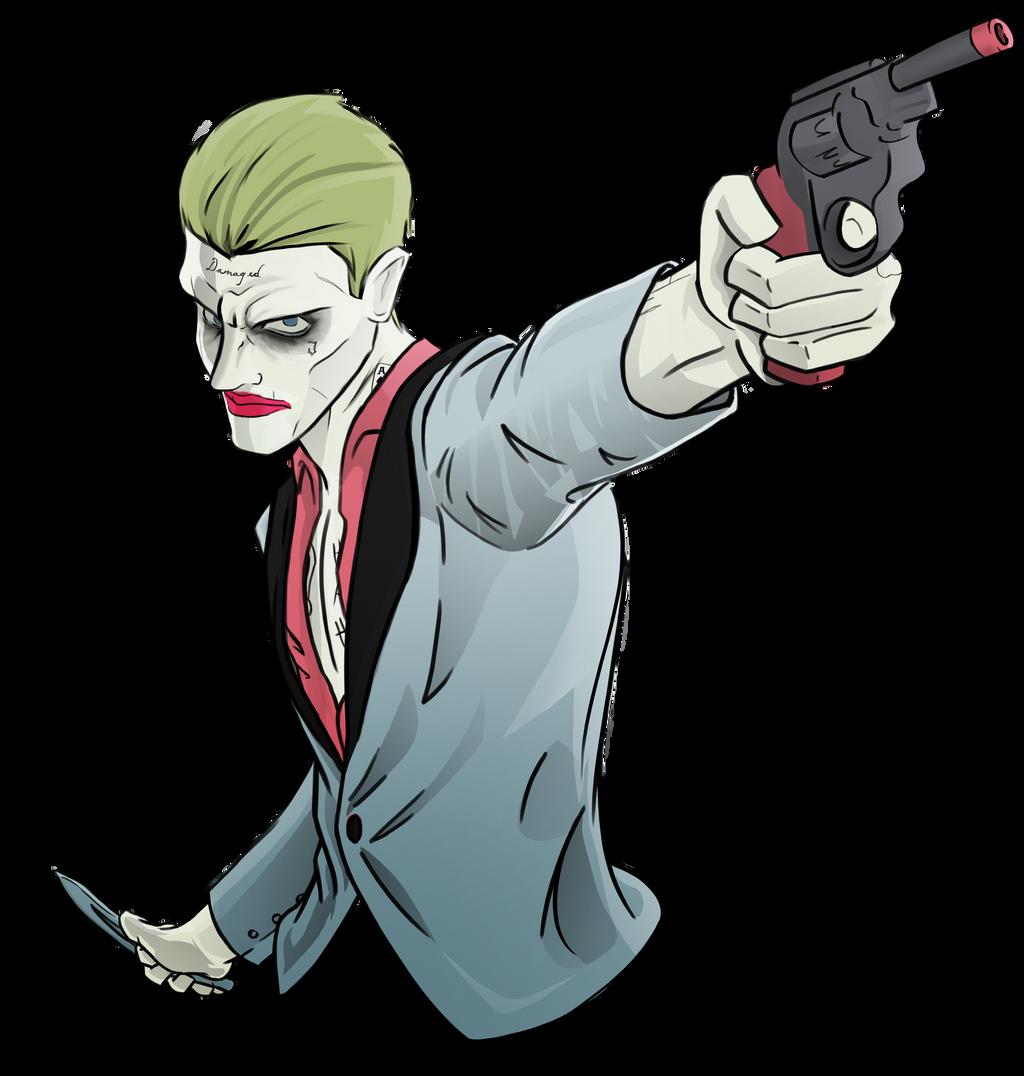 Joker Suicide Squad By Evanattard On Deviantart