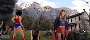 Superheroine Mountain Fight#