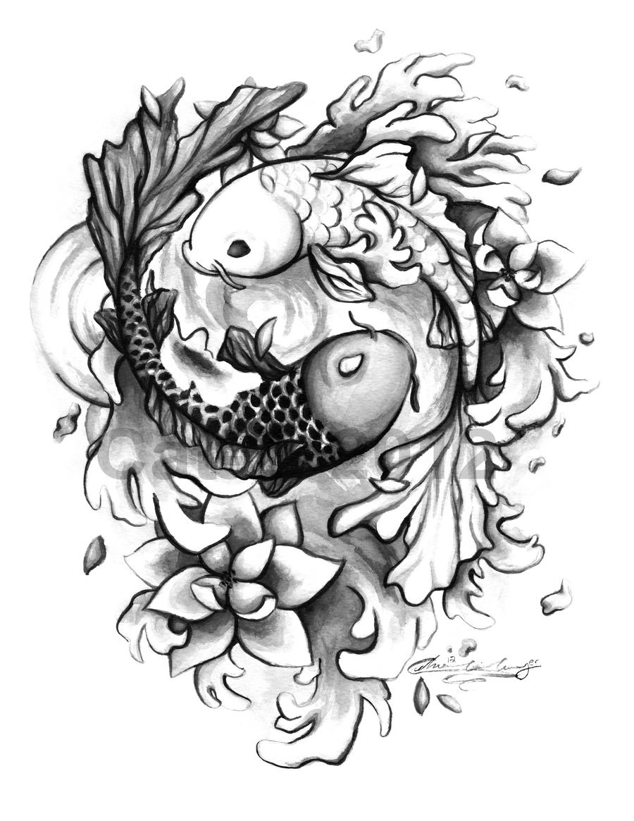 Ying yang by cat 2 on deviantart ying yang by cat 2 sciox Gallery