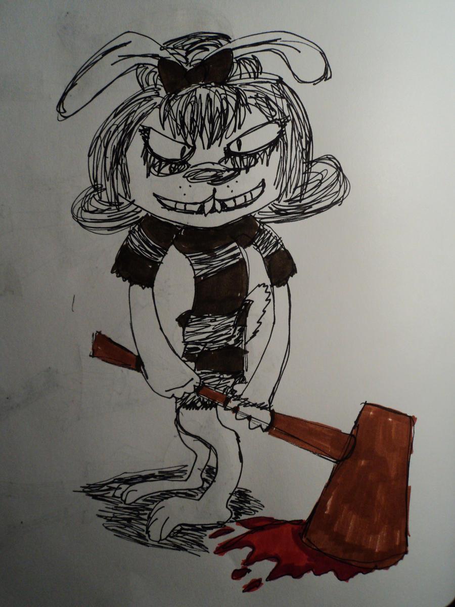Little Bunny Foo Foo by tharailwaydra on DeviantArt