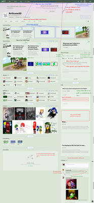 Everything wrong with DeviantArt Eclipse - Profile