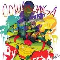 Cowabunga by Sugargeek1819