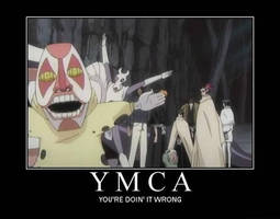 Bleach:YMCA Motiv by Uniquefantasy