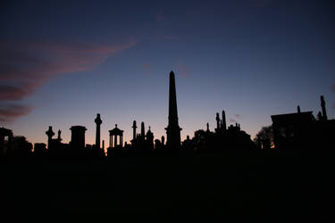 Necropolis Silhouettes 1 by james147741