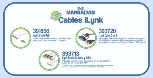 iLynk Cables by Manhattan