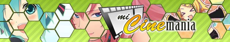 MiCinemania banner (green) by elporfirio