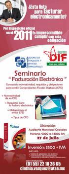 Flyer Factura Electronica