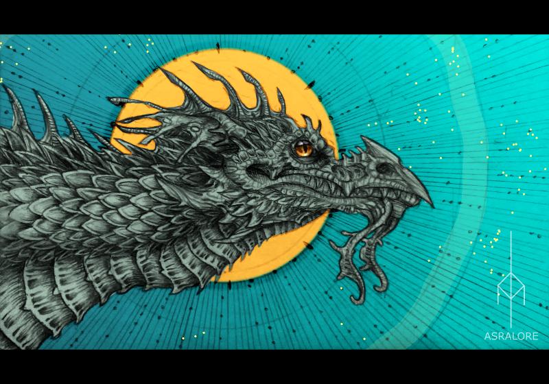 The annual dragon by Asralore